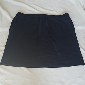 NWT Loft Cotton Skirt with Pockets